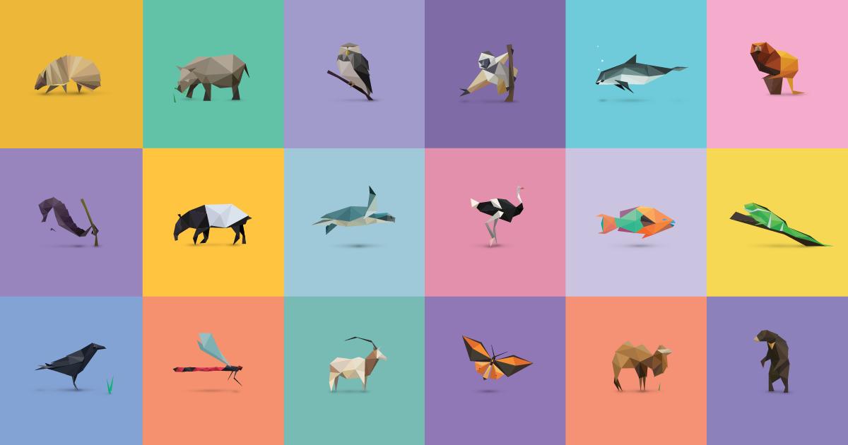 In Pieces - 30 Endangered Species